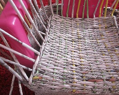 13. Плетеная мебель своими руками