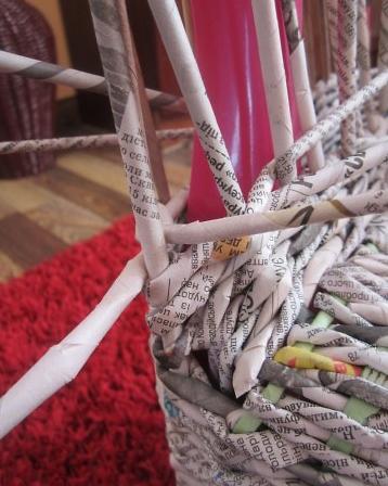 15. Плетеная мебель своими руками