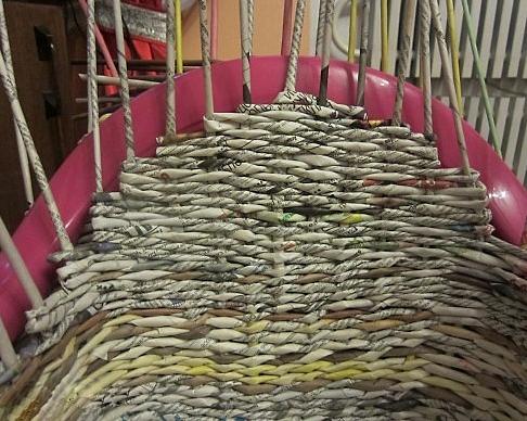 20. Плетеная мебель своими руками