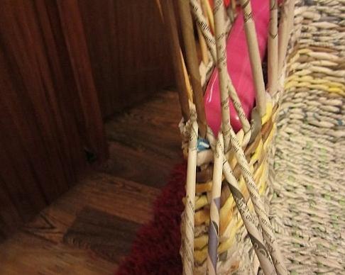 21. Плетеная мебель своими руками
