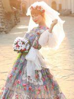 Платья из штапеля в народном стиле