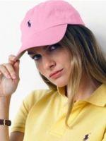 Розовая кепка Ralph Lauren