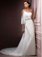 Греческое свадебное платье – самые красивые короткие и длинные модели