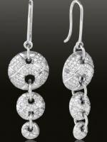 Серьги с бриллиантами – самые красивые золотые и серебряные украшения