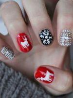 Зимний дизайн ногтей – 36 фото красивого маникюра с зимней тематикой