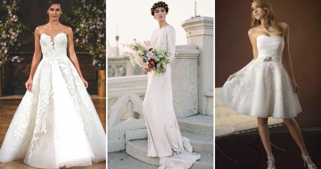 Свадебный образ невесты 2017 – модные тенденции, необычные образы, красивые наряды