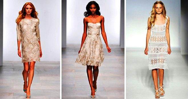 Платье с кружевом – лучшие фасоны и с чем их носить?