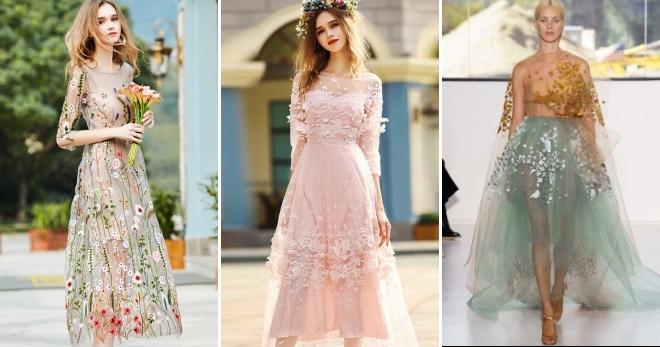 Прозрачное платье – откровенные наряды для модниц без комплексов