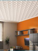 Как правильно клеить потолочную плитку?