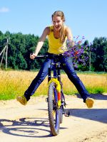 К чему снится кататься на велосипеде?