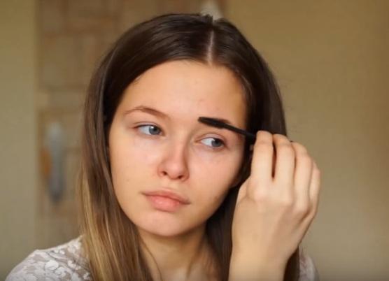 как делать красивый макияж в домашних условиях 3