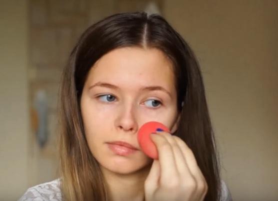 как делать красивый макияж в домашних условиях 5