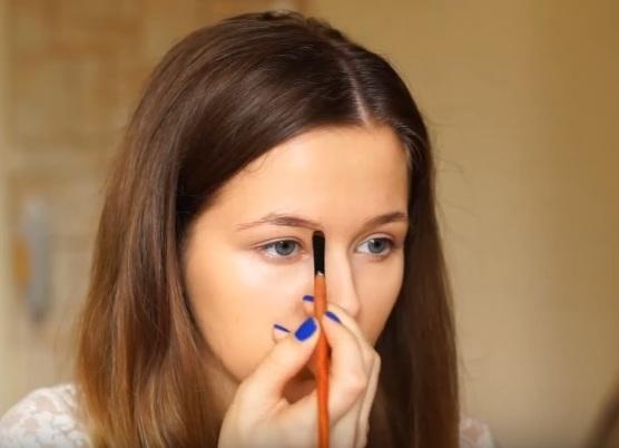 как делать красивый макияж в домашних условиях 8