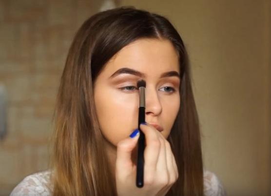 как делать красивый макияж в домашних условиях 11