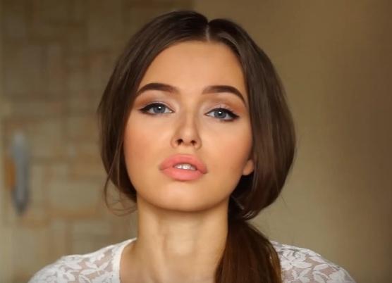 как делать красивый макияж в домашних условиях 18