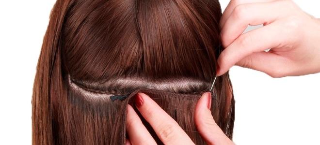 Голливудское наращивание на короткие волосы вид