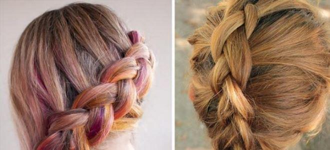 Колосок французская коса