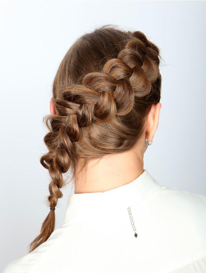 Колосок французская коса2