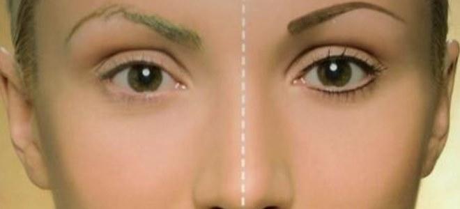перманентный макияж век фото до и после 1