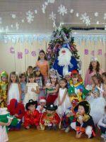 Новогодний утренник в детском саду старшая группа