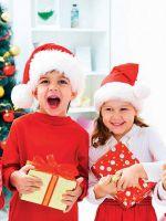 Смешные новогодние частушки для детей