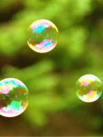 Рисование мыльными пузырями – мастер-класс