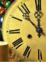 «Новогодние часы» – поделка на Новый год