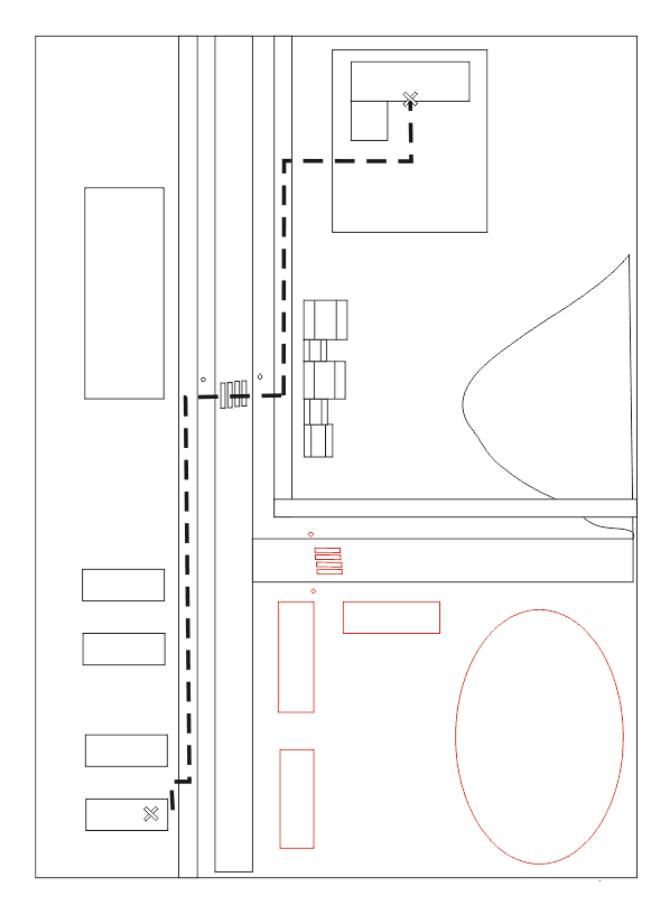 Как нарисовать маршрут от дома до школы5