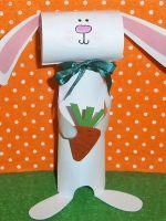 Заяц из бумаги своими руками - объемная поделка