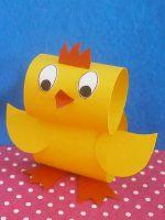 Как сделать цыпленка из бумаги своими руками?