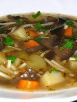 Как варить грибной суп?