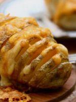 Картофель с сыром, запеченный в духовке