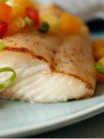 Рыба, запеченная с овощами в духовке