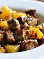 Жареная картошка с мясом - оригинальные идеи приготовления простого и сытного блюда