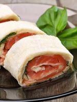Рулет из лаваша с красной рыбой - интересные идеи приготовления вкусной и необычной закуски