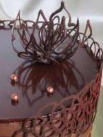 Глазурь из шоколада - самые простые рецепты для украшения десерта