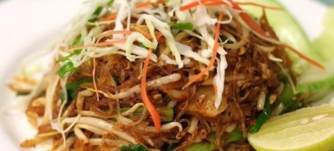 фунчоза по корейски с омлетом рецепт