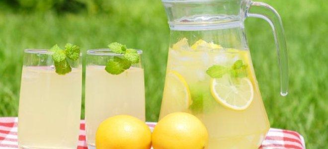 как сделать дома лимонад