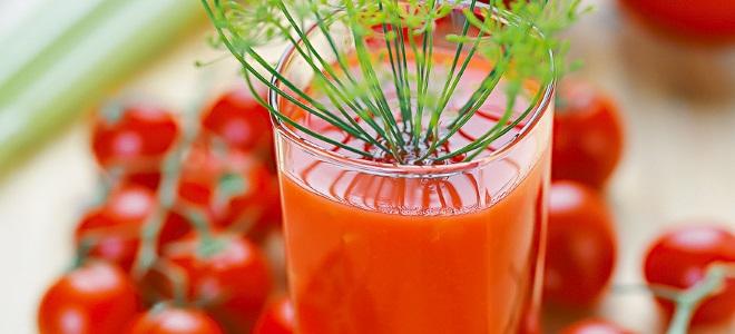 сок томатный на зиму простой рецепт