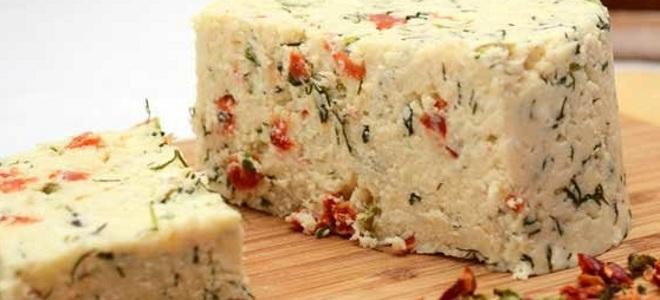 сыр в микроволновке из творога