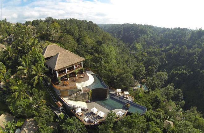 Отель Висячие сады (Hanging Gardens), Бали