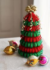 поделка для детского сада новогодняя елка