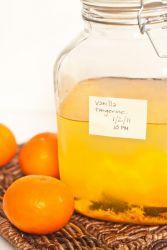 Настойка на мандариновых корках на водке