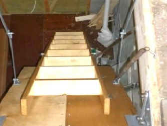 Чердачные лестницы своими руками 37