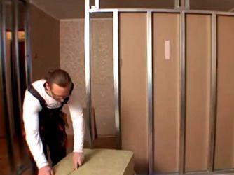 Как сделать перегородку в комнате21
