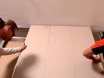 Как сделать перегородку в комнате25