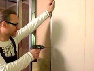 Как сделать перегородку в комнате26