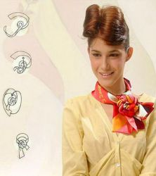 Как носить платок на шее 4