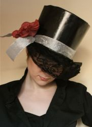 Шляпа цилиндр своими руками25