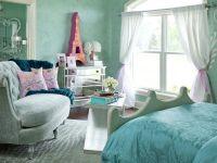 Бирюзовый цвет стен 15